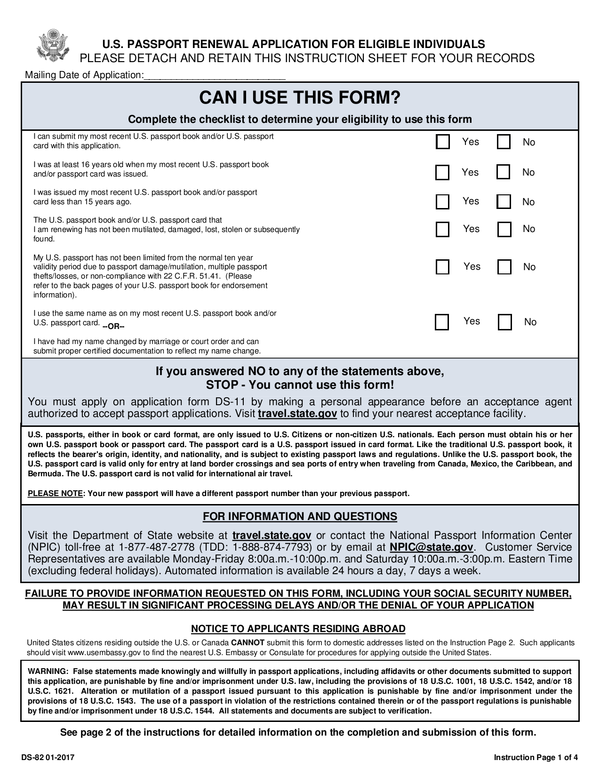 Fill - Free fillable Department of State PDF forms