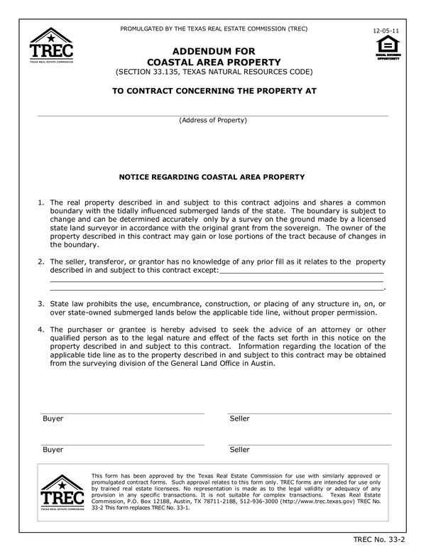 Fill Free Fillable Texas Real Estate Contract Pdf Forms