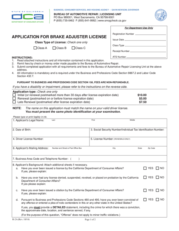 Fill Free Fillable Forms For The State Of California